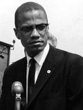 Malcolm X Photographic Print by Maurice Sorrell