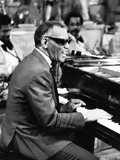 Ray Charles - 1979 Photographic Print by Perry Harmon