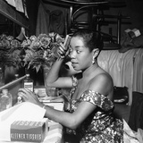 Sarah Vaughan - 1954 Photographic Print by Bertrand Miles