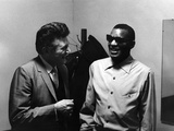 Ray Charles, Liberace - 1973 Photographic Print by Howard Morehead