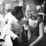 Sammy Davis Jr., May Britt - 1960 Photographic Print by Issac Sutton