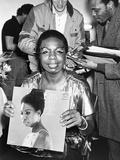 Nina Simone Photographic Print by Monroe Frederick
