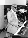 Ray Charles - 1990 Photographic Print by Fred Watkins