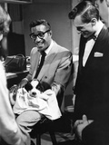 Sammy Davis Jr., Hugh Hefner - 1960 Photographic Print by Issac Sutton
