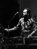 Earth, Wind & Fire - 1974 Photographic Print by Moneta Sleet