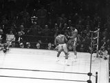 Muhammad Ali and Joe Frazier - 1971 Photographic Print by Isaac Sutton