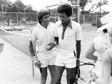 Arthur Ashe - 1976 Photographic Print by Ozier Muhammad
