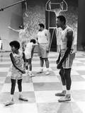 Michael Jackson; Bill Russell - 1971 Photographic Print by Leroy Patton
