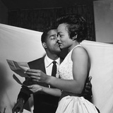 Sammy Davis Jr., Eartha Kitt - 1954 Photographic Print by G. Marshall Wilson