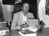 Arthur Ashe - 1989 Photographic Print by Fred Watkins