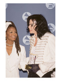 Michael Jackson and Janet Jackson - 1993 Photographic Print by Kenneth Coleman