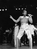 Marvin Gaye - 1983 Photographic Print by Bob Johnson
