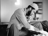 Kareem Abdul-Jabbar Photographic Print by Ozier Muhammad