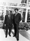 Muhammad Ali and Alex Haley - 1979 Photographic Print by Isaac Sutton