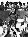 James Brown. - 1974 Photographic Print by Norman Hunter
