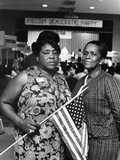 Fannie Lou Hammer and Ella Baker Photographic Print by Maurice Sorrell