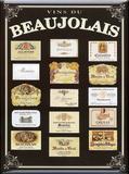 Bordeaux Plaque en métal