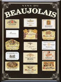 Beaujolais Tin Sign