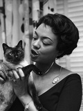 Hazel Scott - 1960 Photographic Print by G. Marshall Wilson