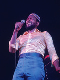 Marvin Gaye - 1974 Photographic Print by G. Marshall Wilson