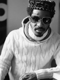 Stevie Wonder - 1976 Photographic Print by Ozier Muhammad