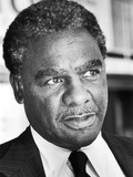 Harold Washington -1980 Photographic Print by Vandell Cobb