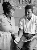 Muhammad Ali and Fannie Lou Hammer Photographic Print by Lacey Crawford