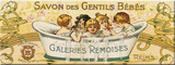 Gentils B&#233;b&#233;s Tin Sign