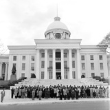 Montgomery Bus Boycott  - 1956 Photographic Print by William Lanier
