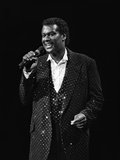 Luther Vandross - 1985 Photographic Print by James Mitchell