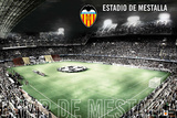 Valencia CF-Estadio de Mestalla Print