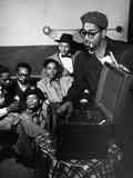 Dizzy Gillespie - 1958 Photographic Print by Griffith Davis