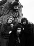 Jimi Hendrix -1968 Photographic Print by Charles Sanders