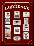 Bordeaux Tin Sign