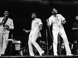 Four Tops - 1970 Photographic Print by Moneta Sleet