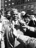 Harold Washington -1983 Photographic Print by Michael Cheers