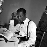 Nat King Cole - 1955 Photographic Print by Isaac Sutton