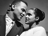 Harry Belafonte - 1957 Photographic Print by David Jackson