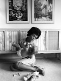Eartha Kitt Photographic Print by Moneta Sleet