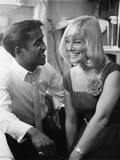 Sammy Davis Jr., May Britt, - 1960 Photographic Print by Isaac Sutton
