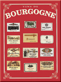 Bourgogne Tin Sign