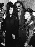 Roberta Flack, Ashford & Simpson - 1989 Photographic Print by Monroe Frederick