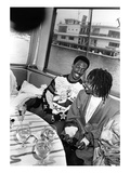 Eddie Murphy and Whoopi Goldbery - 1986 Photographic Print by Isaac Sutton