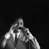 Jackie Wilson - 1960 Photographic Print by David W. Jackson