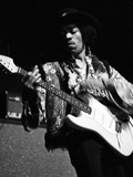 Jimi Hendrix -1968 Photographic Print by G. Marshall Wilson