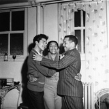 Dinah Washington, Rafael Campos, Eddie Chamblee - 1963 Photographic Print by Isaac Sutton