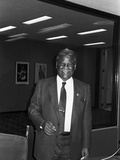 Harold Washington -1983 Photographic Print by Bob Johnson