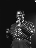 Luther Vandross - 1986 Photographic Print by James Mitchell