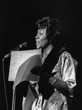 Dinah Washington - 1963 Photographic Print by Norman Hunter
