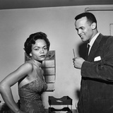 Eartha Kitt and Harry Belafonte Photographic Print by G. Marshall Wilson